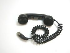 VINTAGE WWII ERA ?? US ARMY MILITARY RCA HANDSET WITH BUTTON RADIO COMMUNCATION