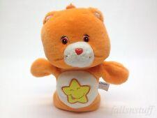 "Care Bears Friendship Bear Hand Puppet Orange Friend Soft Toy, 9"" RARE HTF"