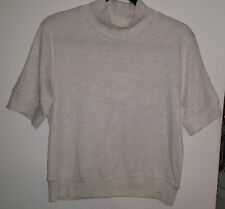 SYNERGY ORGANIC CLOTHING VALE TOP TAUPE ORGANIC COTTON RECYCLED POLYESTER YOGA
