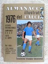 ALMANACCO ILLUSTRATO DEL CALCIO 1976 PANINI