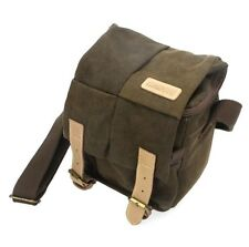 DSLR Digital Camera Bag Waterproof Canvas Vintage Shoulder for Nikon Sony Canon