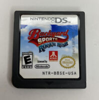 Backyard Sports Rookie Rush (Nintendo DS, 2010) Tested & Works VG Free Ship!