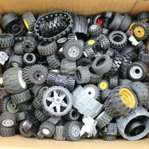 LEGO Wheels - 500g of LEGO Tyres, Wheels and Axels - For Technic, City, Friends