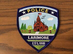 Larimore North Dakota Police Department Patch