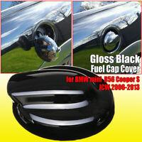 Black Gloss Fuel Cap Cover oil tank for BMW Mini Gen 2 R56 Cooper S JCW 06-13 !