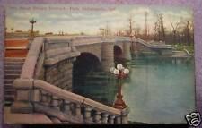 30TH STREET BRIDGE INDIANAPOLIS  INDIANA early 1900's
