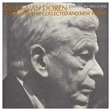 MARK VAN DOREN - READS FROM HIS COLLECTED AND NEW POEMS USED - VERY GOOD CD