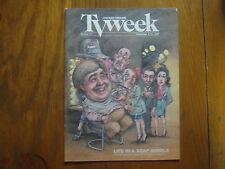 Sept., 1987 Chicago Tribune TV Week (RYAN'S  HOPE/ELINOR DONAHUE/YASMINE BLEETH)