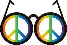 Peace Sign Sun Glasses World Peace Sticker Decal Graphic Vinyl Label
