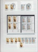 CHINA 1991 ceramics Belgium joined issues MNH