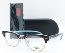NEW Rayban Rx Frame Clubmaster RX5154 5885 49mm Tortoise AUTHENTIC Classic 5154