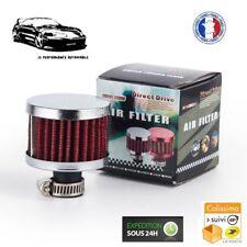 Filtre à Air de Reniflard d'Huile - Universel - Peugeot - Couleur Rouge - Neuf