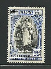 Album Treasures Tonga Scott # 72  2 1/2p Queen Salote  Mint Lightly Hinged