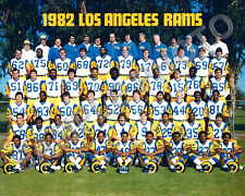 1982 LOS ANGELES LA RAMS NFL FOOTBALL 8X10 TEAM  PHOTO #2
