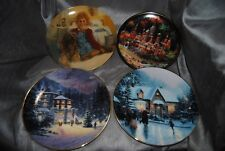 Edwin M. Knowles Fine China Plates 2 Thomas Kinkaid