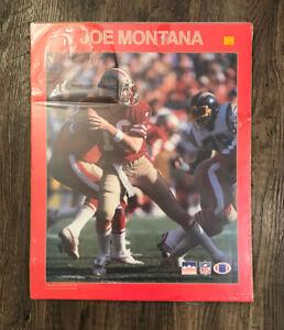Vintage Original 1988 JOE MONTANA 49ers Starline Poster Print NFL