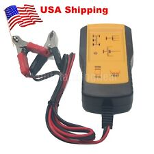 AE100 Electronic Automotive Relay Tester 12V Car Auto Battery Checker US^