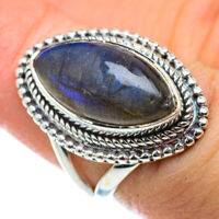 Labradorite 925 Sterling Silver Ring Size 6 Ana Co Jewelry R50412F