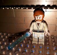 Lego Star Wars Figur Obi-Wan Kenobi mit Waffe Laserschwert Minifig 75135