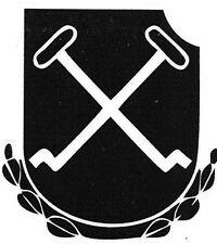 101ST SS HEAVY PANZER BATTALION (LSSAH)  LAMINATED VINYL STICKER 90MM