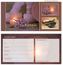 200 St. Geschenkgutscheine Fußpflege Spa  Wellness Beauty Kosmetik Sauna
