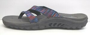 Skechers Size 10 Blue Sandals New Womens Shoes