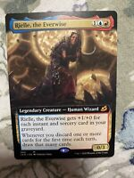 1x RIELLE, THE EVERWISE - EXT ART Ikoria MTG MT In Hand SHIPS NOW EDH Commander