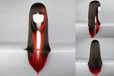 Schwarze Perücken & Echthaar-Haarverlängerungen Zubehör-,, Haarteile