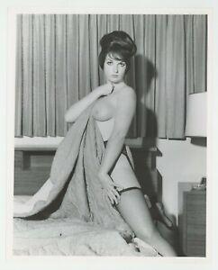 Jaybird Girl Lori Nelson 1966 Bouffant Hair Stockings 8x10 Parliament J7404