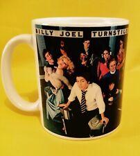 More details for album cover on an 11oz mug.billy joel turnstiles 1976