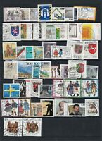 100+ Diff Nice Used Germany Stamps From Years 1993 & 1996 Cat £100+ See 2 Scans