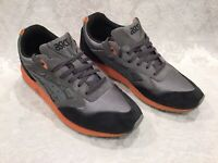 ASICS MENS GEL Saga Running 9.5 Men's Shoes F581212-PI Gray/ Orange , Black Trim