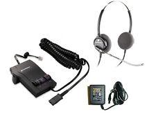 Plantronics Combo M12 Amplifier + H61 Voice Tube Headset + AC Adapter