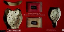 NEW  Owl Electric Tart Warmer & Night Light Warmer and 2 scented wax packs