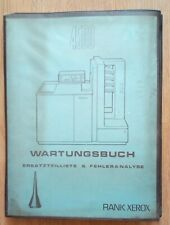 Antique Manual Service Xerox 4500