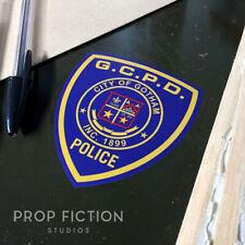 Batman - Prop GCPD Gotham City Police Equipment Case Sticker / Vehicle Car Decal