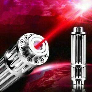 <1MW Red 650nm Laser Pointer Pen Militar Burning Beam Light High Power