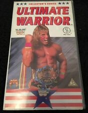 WWF WWE. Ultimate Warrior. Rare VHS. Collector's Series. 60 Minutes. 1990.