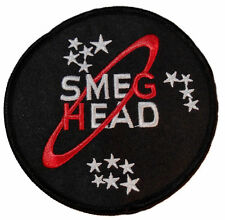 Red Dwarfs Smeg Head Iron-on/Sew-on Embroidered PATCH