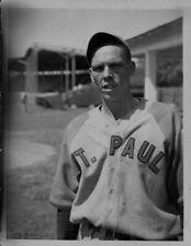 1939 Harry Bayles Pitcher St Paul Saints Press Photo