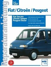 FIAT DUCATO Citroën Jumper Peugeot Boxer Reparaturbuch Jetzt helfe ich mir selbs