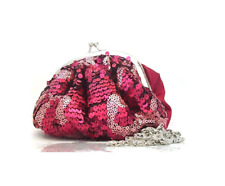 Red & Pink Sequin Dolly Style Bag from AVON Range- NEW
