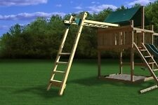 SWING SET STUFF MONKEY BAR KIT playground accessories climb hang fort wood 0102