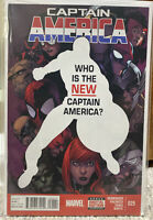 Captain America #25 1st Sam Wilson as Cap. Falcon And Winter Solider. NM-M Rare.