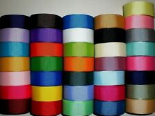 """Grosgrain Ribbon Mixed Lot 36 Yards Solid Colors 7/8"""" Inch Ref Kl3"""