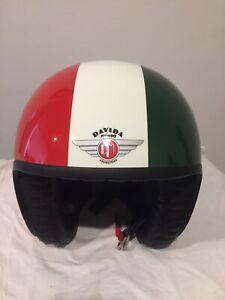 davida 'jet' motorcycle helmet