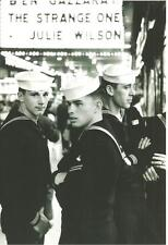 photo 3 sexy US Navy sailors handsome young guys on leave at movie gay interest