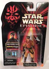 "Star Wars Episode 1 Phantom Menace Naboo Royal Security 3.75"" Figure Hasbro 1999"