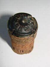Ancien vieux bouchon de champagne capsule - LAHAYE WAROQUIER à Bouzy - Stopper