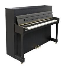 Markenklavier NEU, schwarz matt, Klavier mieten, Piano zur Miete